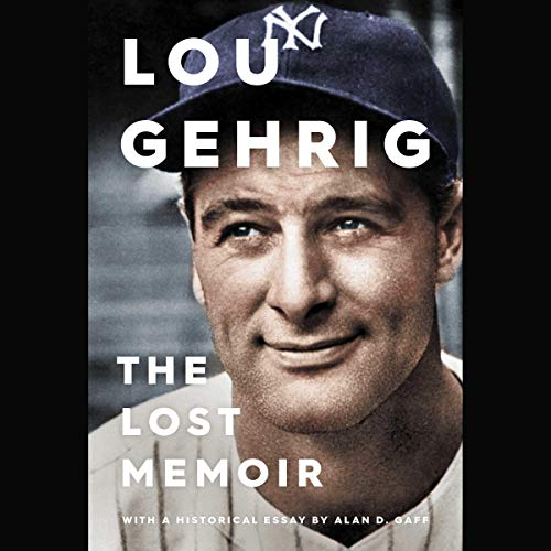 Lou Gehrig cover art