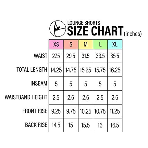 90 Degree By Reflex Activewear Lounge Shorts – Heather Grey Medium
