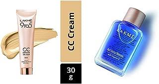 Lakme 9 to 5 Complexion Care Face Cream, Beige, 30g & Lakmé Nail Color Remover, 27ml