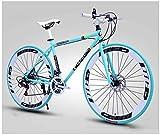 LCAZR Les Vélos de Route de Femmes et d'hommes, prêt de vélos 26 Pouces, Adultes, Cadre en Acier...