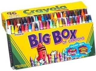 Crayola 520096 Crayons Box, 96 Count (Case of 6)
