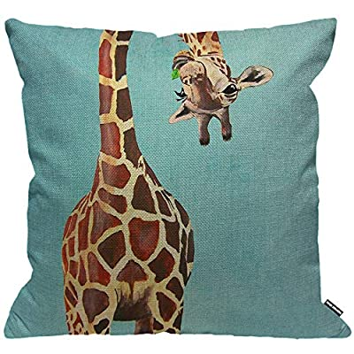 Amazon Co Uk Giraffe Pillow
