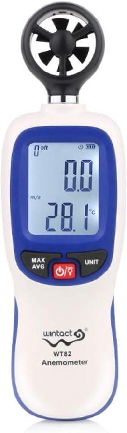 M-CH Digital shop Same day shipping Anemometer Wind Speed Handheld LCD Scale Gauge Digi