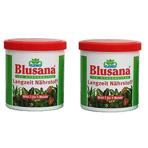 Set 2 teilig für Hydrokultur Blusana Lewatit HD 50 Dünger 800 ml