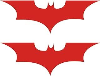 red batman logo