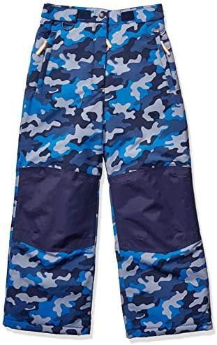 Amazon Essentials Boys Water Resistant Snow Pants Blue Camo X Large product image