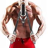 Fuerza de brazo ajustable, entrenamiento de la casa de los hombres Equipo de aptitud física Entrenamiento del brazo muscular del pecho Ejercicio de la velocidad del agarre hidráulico (15-60kg) YMIK