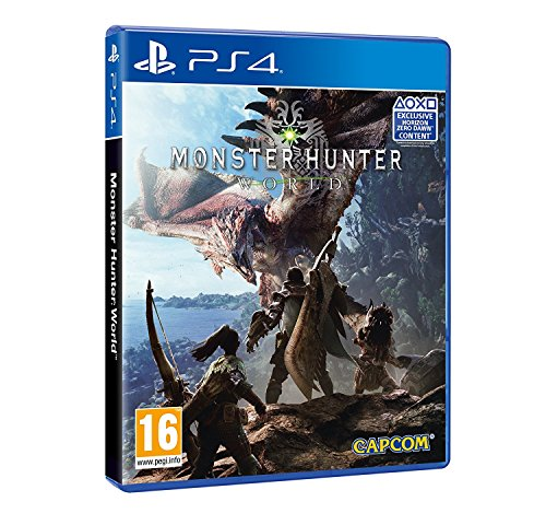 Monster Hunter World (Exclusive Horizon Zero Dawn Content) PS4 - PlayStation 4