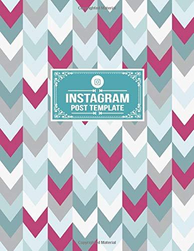 Instagram Post Template: Tracker Notebook Organizer