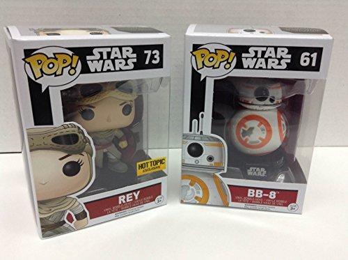 Funko POP! Star Wars BB-8 / Rey HT Exclusive Bundle image