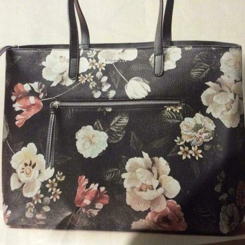 Avon Fiorelli Black Floral Print 'Iris' Tote Bag