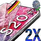 UTECTION 2X Schutzfolie für Samsung Galaxy S20 Plus - Fingerabdruck kompatibel - Premium Folie KEIN Glas - Hüllenfre&lich - Anti Kratzer Bildschirmschutzfolie HD Ultra Clear - S20+ Schutz Bildschirmfolie