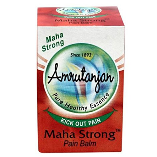 Amrutanjan 10 Pack Ayurvedic Maha Strong Pain Balm