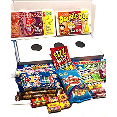 retro sweets gift box selection. perfect gift idea: packed full of delicious treats. Retro American Candy Sweets Gift Box Selection. The Ultimate Gift Idea: Packed Full of Delicious Treats. 51tWafy16DL