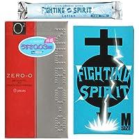 リンクルゼロゼロ 1000 8個入り + FIGHTING SPIRIT(ファイティングスピリット) コンドーム Mサイズ 12個入り + ファイティングスピリット ローション1本 セット