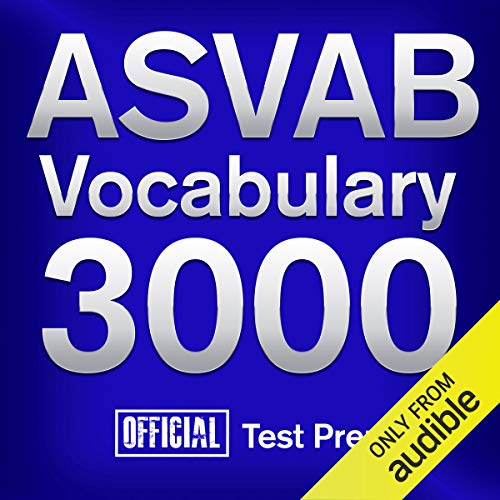 Official ASVAB Vocabulary 3000 audiobook cover art