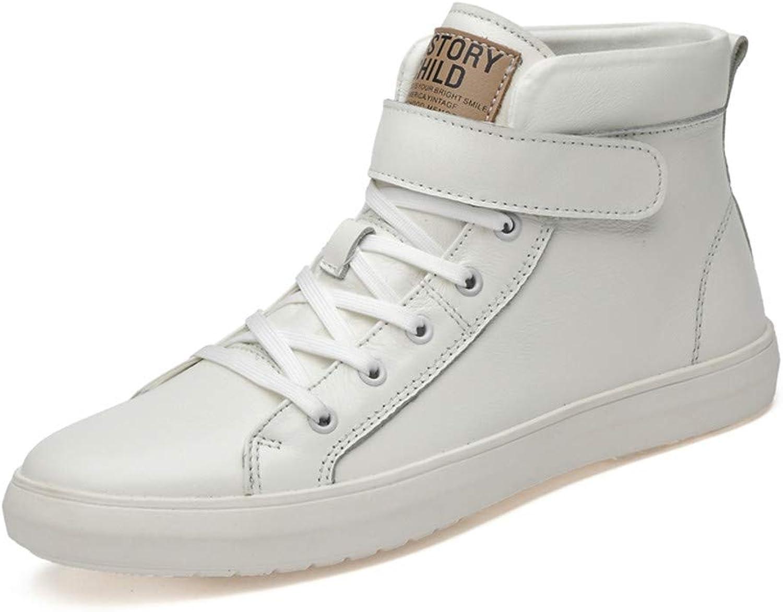 FuweiEncore Men's sneaker (color   White, Size   38 EU)