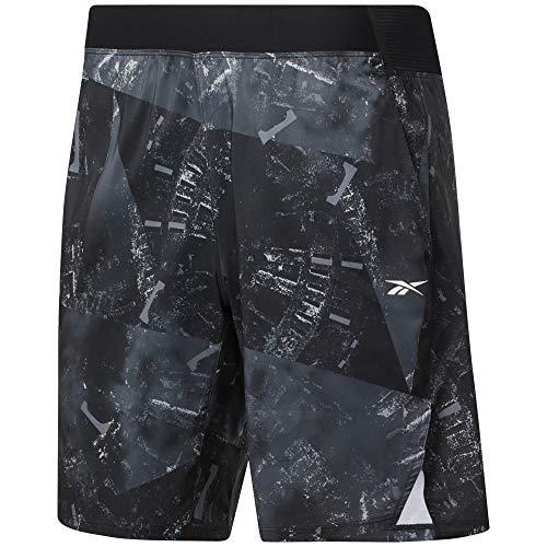 Reebok TS Epic LTWT Short GR Short Homme, Homme, Short, 4064047861341, Noir, XL