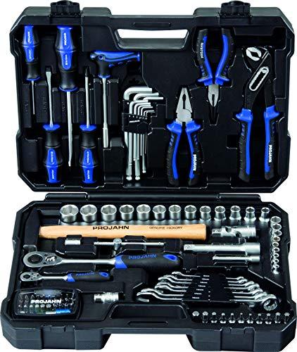 Projahn Werkzeugkoffer Set proficraft 98 tlg. (Werkzeugset, Werkzeugtasche) 8666