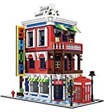 General Jim's Architectural Building Blocks Toy Set Corner Store Street View Creator Building Bricks Building Set