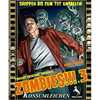Pegasus Spiele 54120G - Zombies!!! 3: Konsumleichen, 2nd Edition [Import allemand]