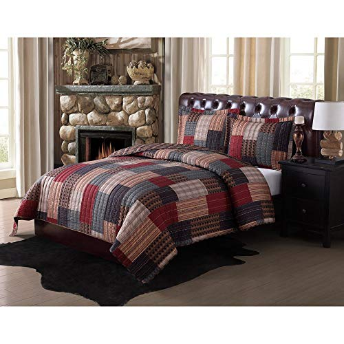 Pem America Remington Remington Gunnison Quilt Set, Full/Queen