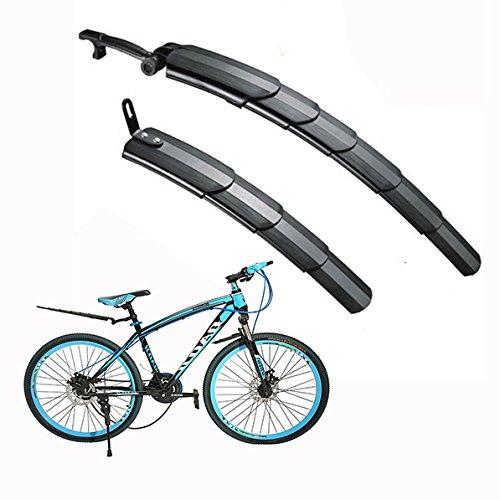 Itian Guardabarros para bicicletas - Escalable, negro
