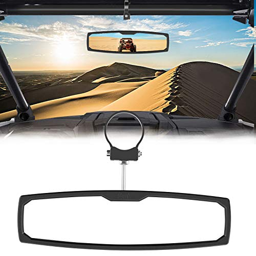 Rear View Mirror 12 Inch Mirror Convex Rear view Mirror Interior Clip on Wide Angle Rear View Mirror to Reduce Blind Spot Effectively for Cars SUV RZR Trucks