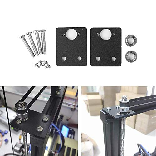 GUOCAO Tools Monitoring Power Double Z-axis Stabilizer Bearing Fixing Bracket for 3D Printer Lead Screw Top Mounting Wood Screw Kit