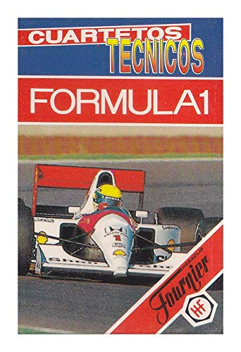 Naipes Heraclio Fournier Juego de Cartas Cuartetos Técnicos Fórmula 1 1993