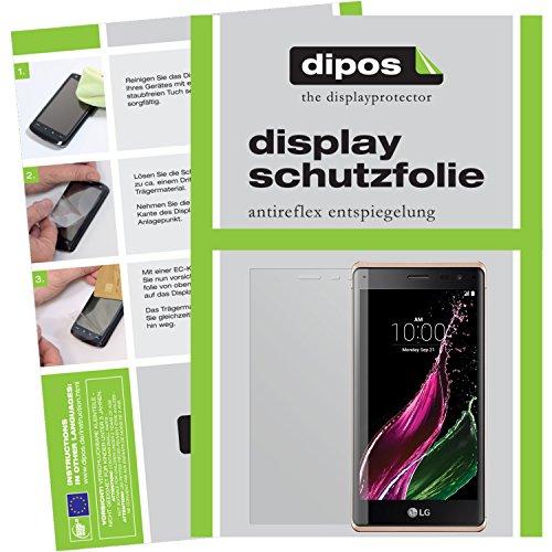 dipos I 2X Schutzfolie matt kompatibel mit LG Class Folie Bildschirmschutzfolie