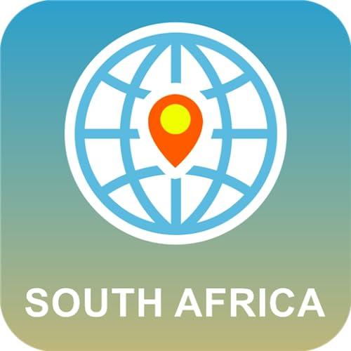 Sudáfrica Mapa Desconectado