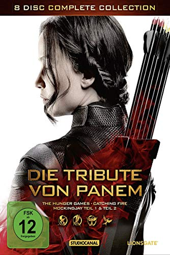 Die Tribute von Panem - Complete Collection [8 DVDs]