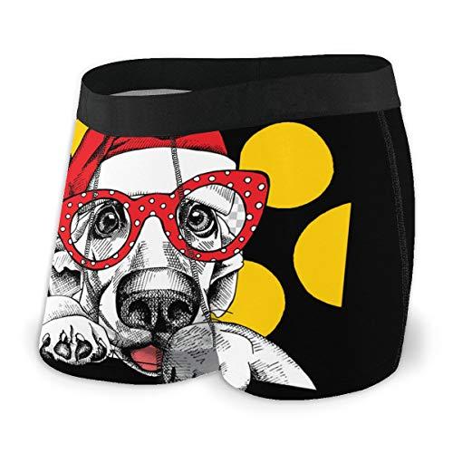 Nuwcense - Calzoncillos para hombre, diseño de bulldog francés