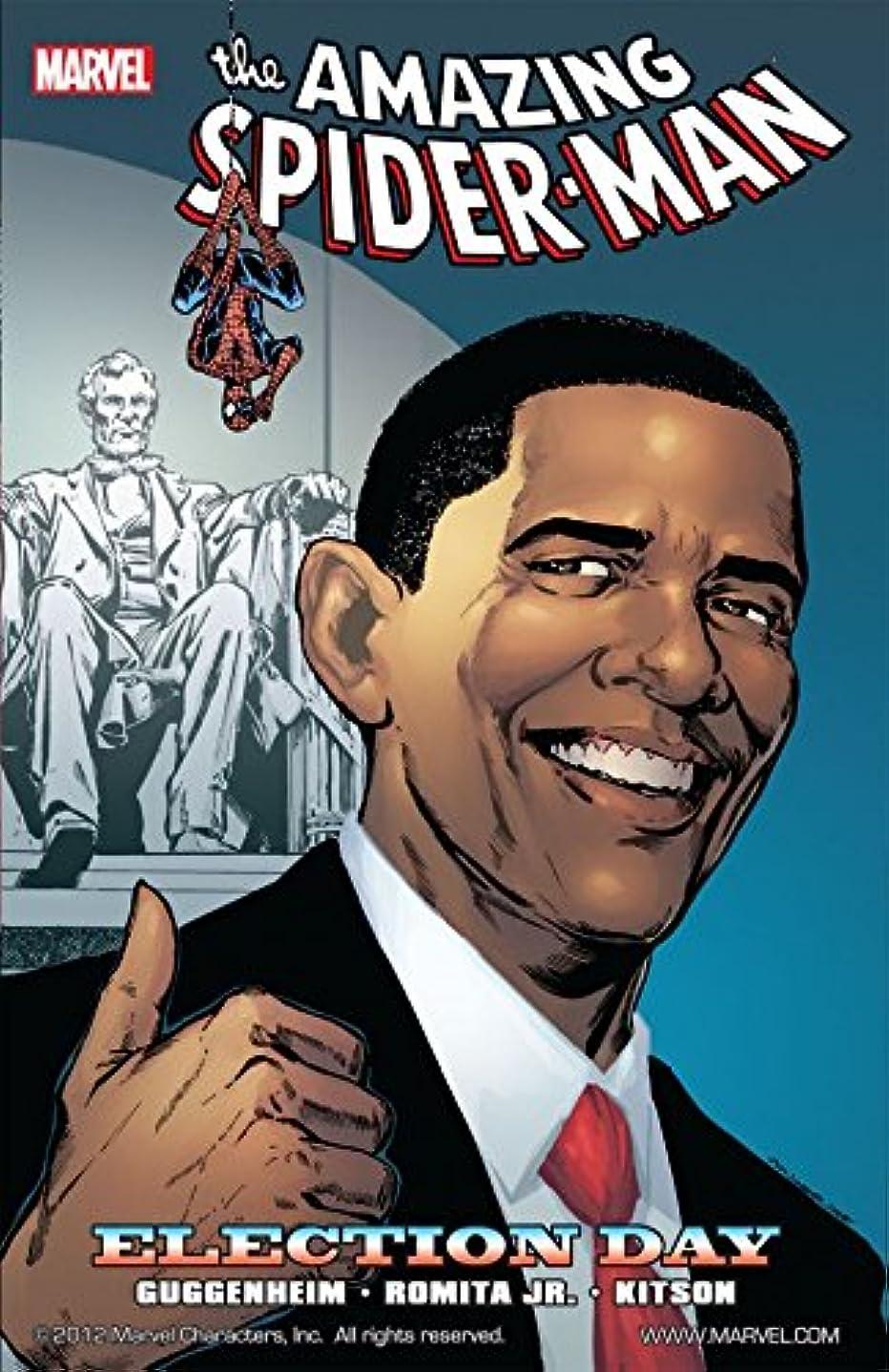 鋸歯状お父さん政令Spider-Man: Election Day (English Edition)
