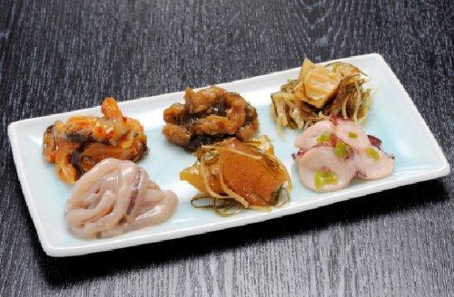 【築地の達人】 珍味好きにはたまらない 布目伝心 北海道産の原料にこだわったお酒のお供にぴったりな、厳選海鮮珍味セットです!