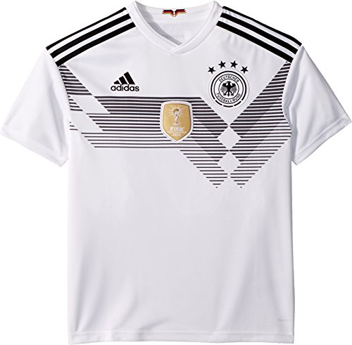 adidas Germany Youth Home Jersey [White] (S)