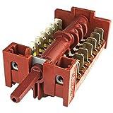 Spares2go Selector Interruptor Unidad para Telefunken 14tlk100gsx, otlk604X horno/cocina