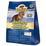 Wolfsblut Wildcat Andhra, Alimento Deshidratado para Gato, Sabor Pescado y Boniato - 3 kg