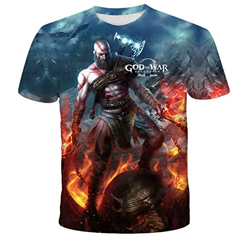 2020 New T-Shirts Summer 3D Cartoon European and American Style Printing