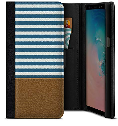 Smartphone Flip Case Nautical Samsung Galaxy S9 Plus