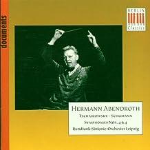 Schumann: Symphony No.4 / Tchaikovsky: Symphony No.4