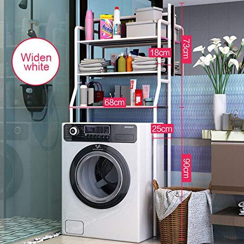LKU Schoenrek Verdikt roestvrij staal plank badkamer kast plank keuken wasmachine rek badkamer
