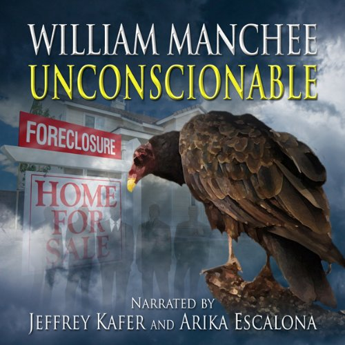 Unconscionable audiobook cover art