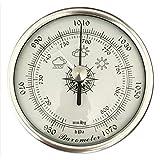 WBMKH Barómetro aneroide análogo de diámetro Barómetro de Pesca Redondo con PE PE...