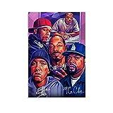 FunArt Rapper-Poster Eminem und 50 Cent Hipphop,