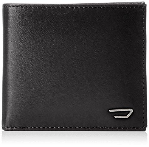 Men's small wallet in leather Diesel Hiresh S X05081 black