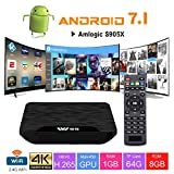 TV Box Android 7.1 - VIDEN W1 Smart TV Box Amlogic...