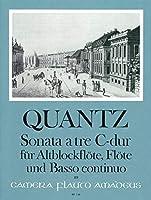 QUANTZ - Trio Sonata en Do Mayor para Flauta de Pico Alto, Flauta (Violin) y Piano (Zimmermann)