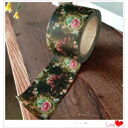 ZXWDL tape Mooie 30Mm*10M Washi Papier Tape/Spiegel Bloem Maskeren Japan Washi Tape